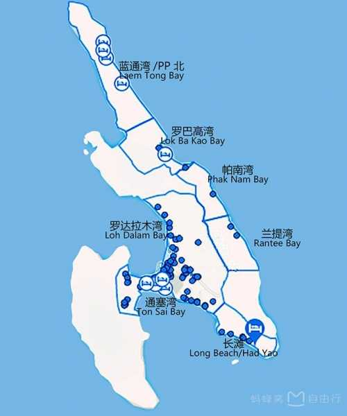 皮皮岛作为泰国普吉岛东南方著名的离岛,游客相对普吉岛少,景色却比