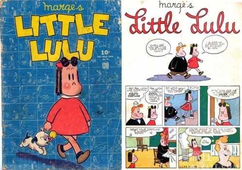 7,约翰·斯坦利,死于1993年,美国漫画家,还记得《小露露》的故事吗?