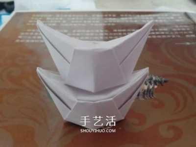 元宝的折法 最简单元宝的叠法图解