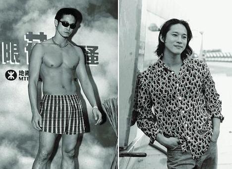 陈子聪年轻_陈子聪年轻帅 回顾陈子聪模特生涯帅照