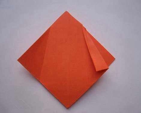 郁金香的折法 郁金香折纸花教程
