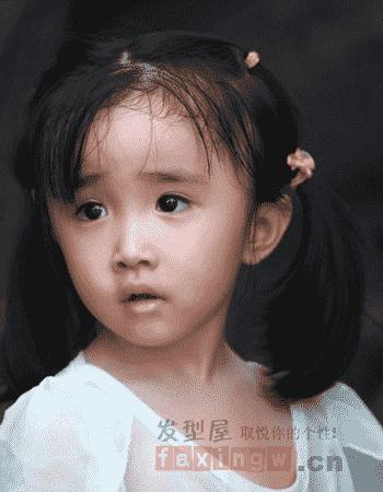 女婴儿发型 0~3岁小女孩发型图片