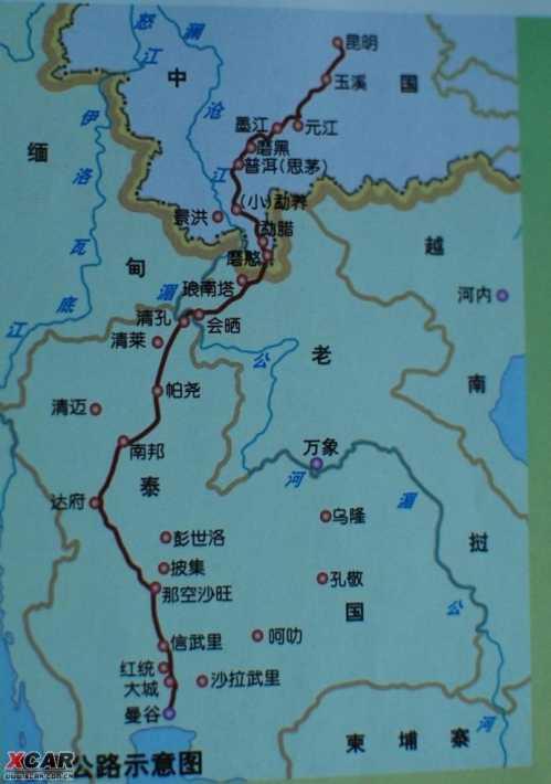 山东明董高速公路地图