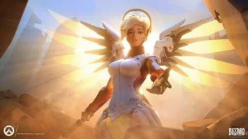 """《守望先锋》天使将进行改动 或与大招""""复活""""有关"""