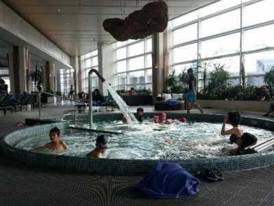 上海最高级的酒店 魔都顶级五星级酒店对外开放的游泳池