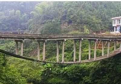 淘金大桥 国内最奇特一座大桥